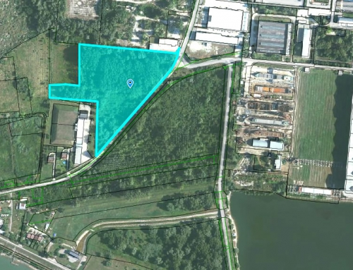 Property behind the shipyards